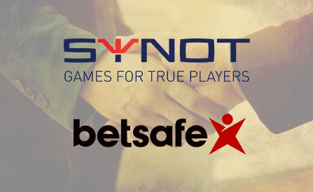 SYNOT Games Signs a Content Deal with Betsafe.lt, Adds Them to Distributor Network