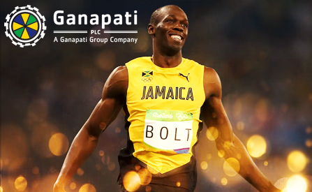 Ganapati PLC and Usain Bolt to Work Together on a Tribute Slot Game Release