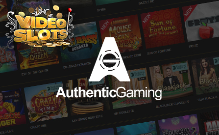 Videoslots Expands Portfolio with Authentic Gaming