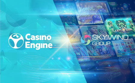 CasinoEngine Gains Access to Skywind Group's Entire Portfolio as well as Engagement Tools