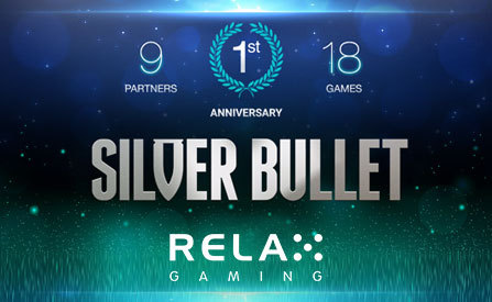 Silver Bullet Platform Turns 1 as Relax Gaming Celebrates this Brand's Performance So Far